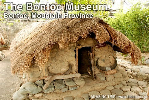 Ulog, the sleeping place of young ladies in The Bontoc Museum, Mountain Province