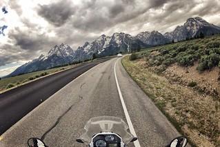 Near Jenny Lake Lodge, Grand Teton National Park, WY.