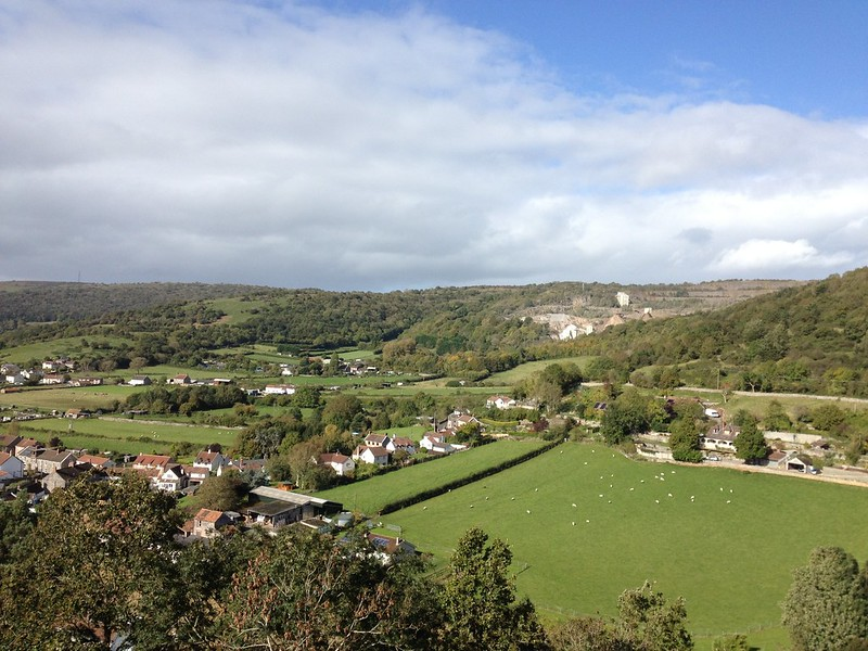 View from Cheddar Gorge Tower 1