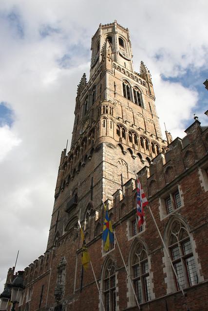 Tower in Bruges