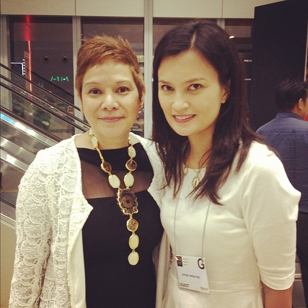 With winner of Katha Award for Fashion, accessories designer Ann Ong. @theManilaFAME #manilafame