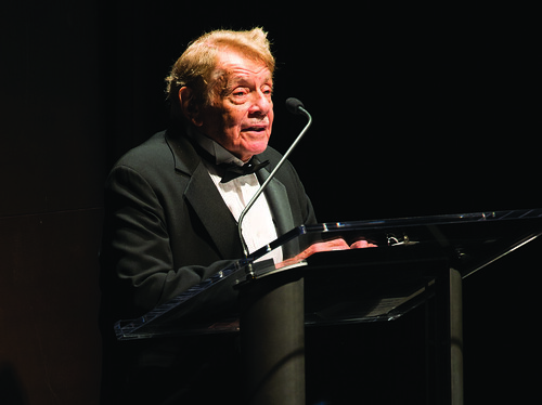 Photo of Jerry Stiller during the Harman Center for the Arts Annual Gala by Kevin Allen.