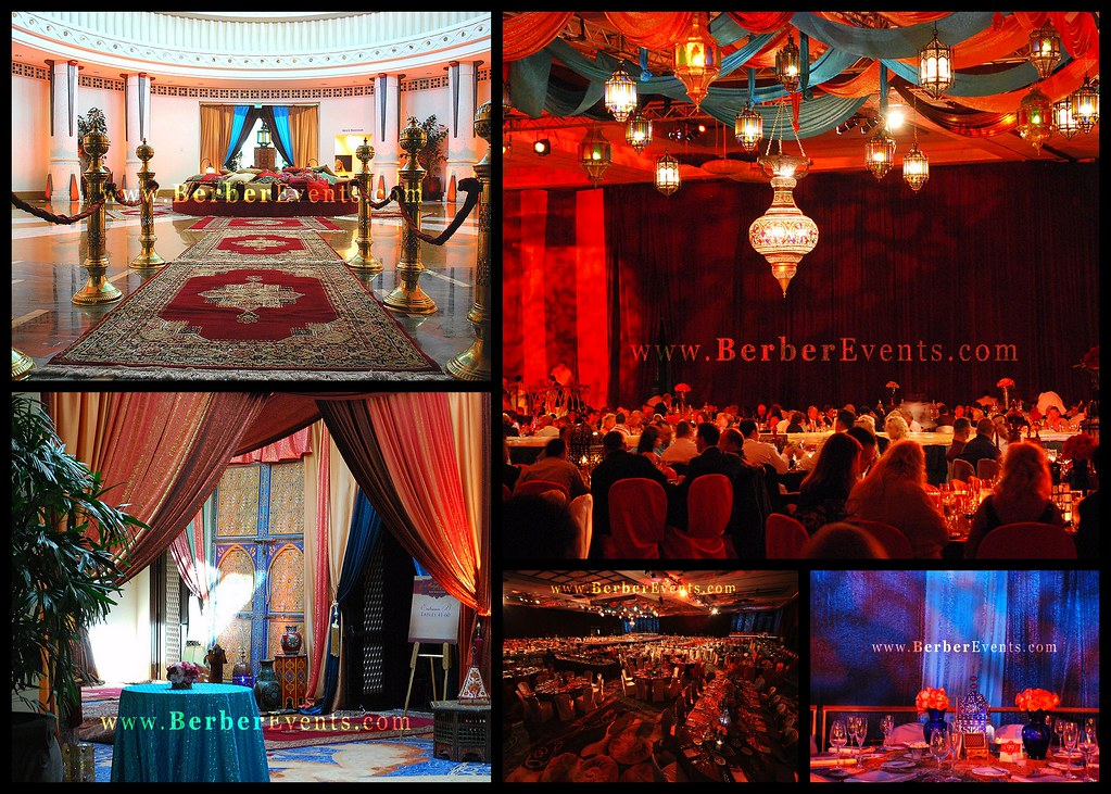 moroccan theme new years eve party for the atlantis hotel in the bahamas celebrating the