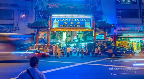 Rob Whitworth - Time lapse photographer releases stunning video of KL, Petaling Street