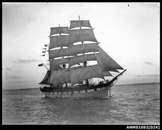 Barque RAUPO / LOUISA CRAIG on Sydney Harbour