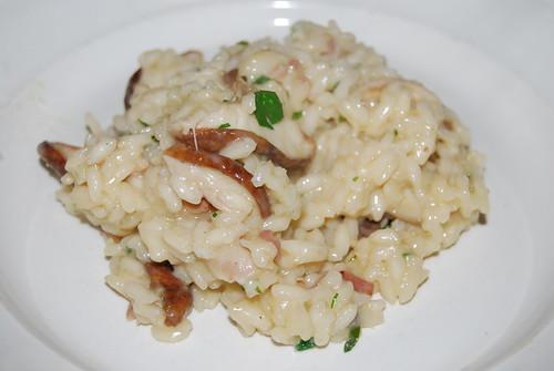risotto met eekhoorntjesbrood