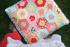 double hexagon pillow! by sewdeerlyloved
