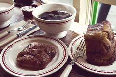meal(0.0), chocolate ice cream(0.0), chocolate cake(0.0), chocolate brownie(0.0), chocolate(0.0), breakfast(1.0), baking(1.0), sweetness(1.0), chocolate pudding(1.0), food(1.0), dish(1.0), dessert(1.0),