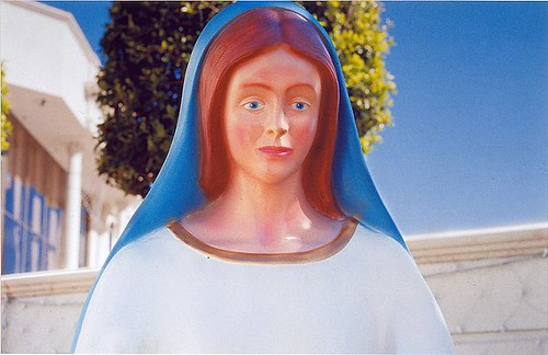 William Eggleston, Untitled (Mary Statue, Orange County), 1999-2000