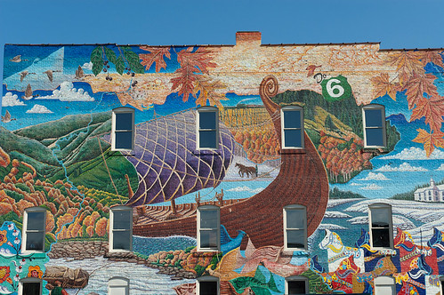 Mt. Jewett Mural