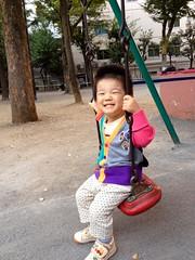 朝散歩 - ブランコ (2012/10/16)