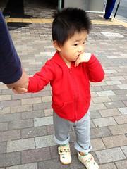 朝散歩 (2012/10/17)