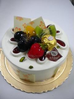 生日蛋糕 冰淇琳