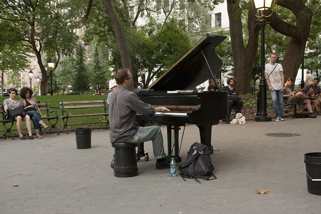 Pianist, Washing Sq Park
