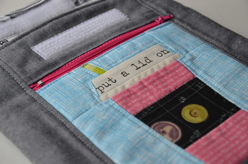 Custom iPad case by Poppyprint