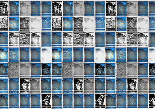 AFSMontage: 2exHDRCompo : Hand Pieced Abstract