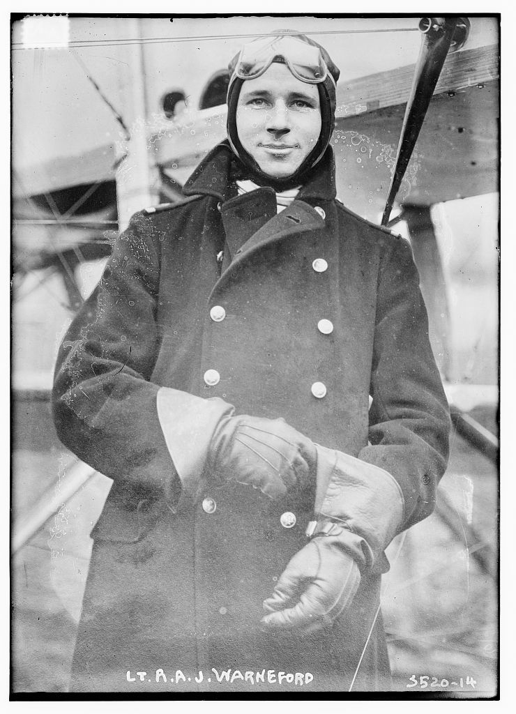 Lt. R.A.J. Warneford  (LOC)