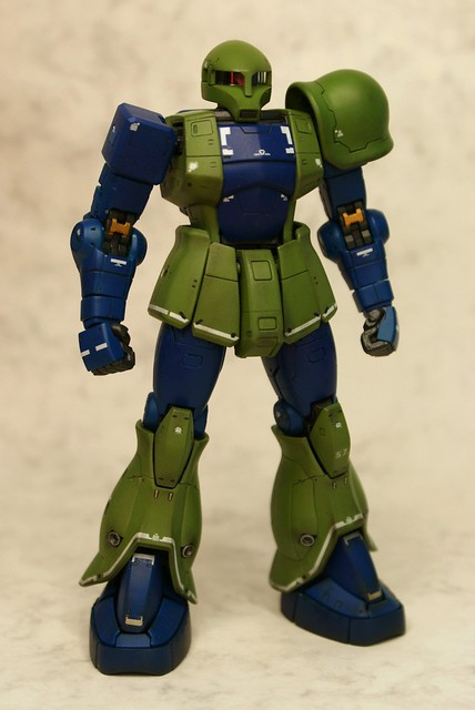 Real Grade 1/144 - MS-05 Zaku I - Completed 2 -