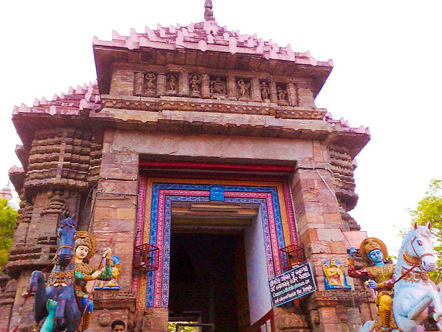 Temples Near Aswadwara – Inside Jagannath Temple