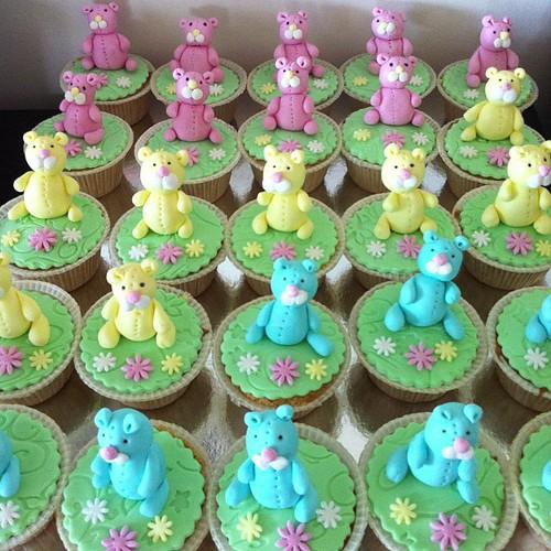 Ayicikli fasadura cupcakeleri by l'atelier de ronitte