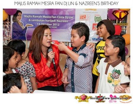Fan Dj Lin Cintamania Sambut Hari Jadi Anak DJ Lin