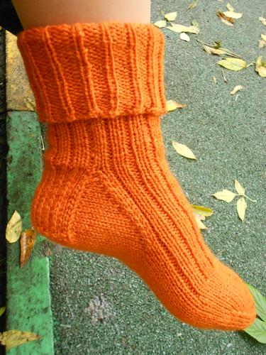 носки 4 резинка 2х1 носок подвернут