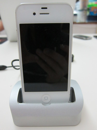 Elevation Dock - iPhone 4S Docking
