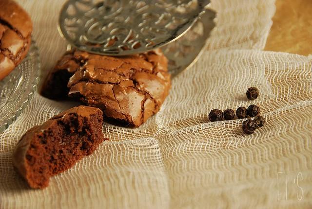Cookies chocolat et poivre