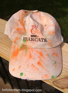 My Hat after 5K Color Run