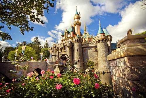 Disneyland — Sleeping Beauty Castle