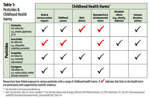 A Generation in Jeopardy: How pesticides are undermining our children's health & intelligence