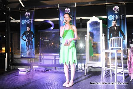 Host - Megan Tan as Tinker Bell