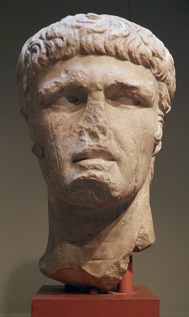 Portrait of the Emperor Claudius, Romisch-Germanisches Museum, Cologne