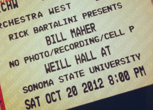 Bill Maher @ Sonoma State