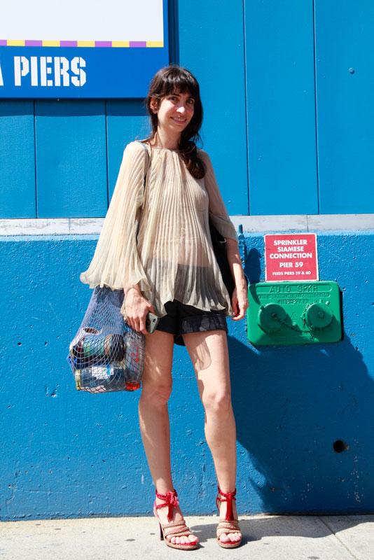 liz_ss2013 street style, street fashion, women, nyc, NYFW,