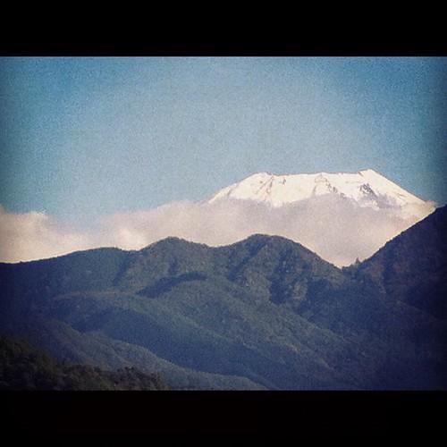 うちから見るより富士山近いんだ。#富士山 #fujiyama #fujisan #mtfuji #身延町