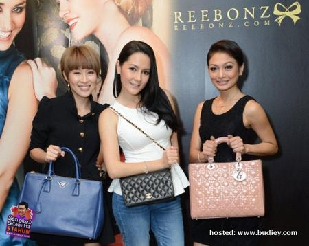 Reebonz Celebrities Interview with Atilia Haron Yasmin Hani & Mayjune Tan