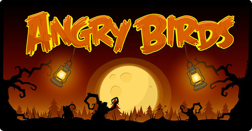Angry Birds Gear Up For The Halloween