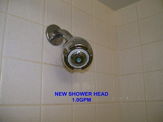 Greencastle's Water Saver Shower Head