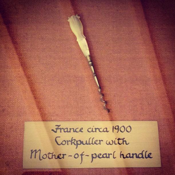 antique french corkscrew