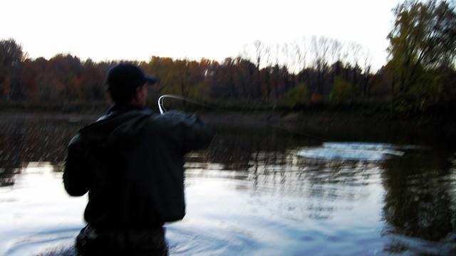 Ohio steelhead fishing