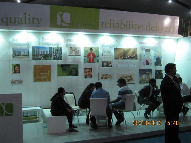 Kasturi (www.kasturihousing.com) - Exhibition of Properties in Hinjewadi, Wakad, Baner, Balewadi & Bavdhan! - PROFEST WEST 2012 by CREDAI Pune Metro on 26 - 27 - 28 October 2012 at VITS Hotel, Balewadi, Pune