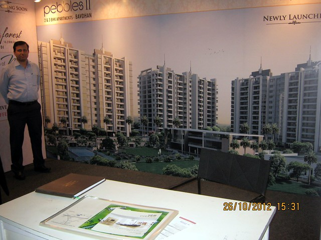 Pebbles II Bavdhan (www.pebblesii.com) - Exhibition of Properties in Hinjewadi, Wakad, Baner, Balewadi & Bavdhan! - PROFEST WEST 2012 by CREDAI Pune Metro on 26 - 27 - 28 October 2012 at VITS Hotel, Balewadi, Pune