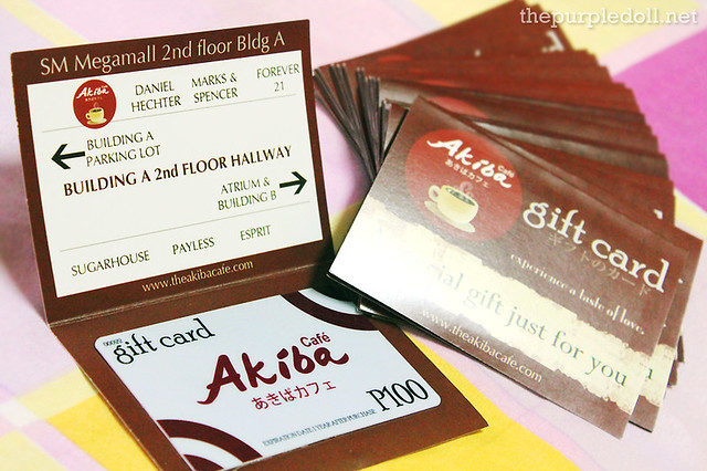 Akiba Cafe Gift Cards Giveaway