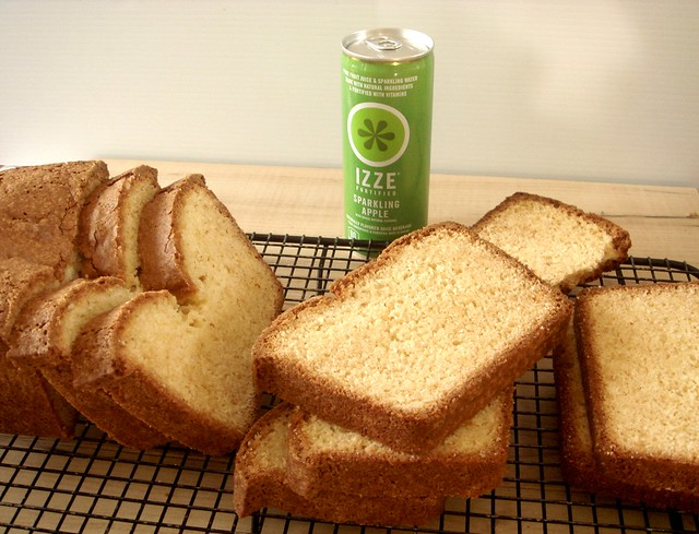 IZZE Pound Cake and Giveaway
