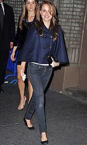 Natalie Portman Cape Coat Celebrity Style Women's Fashion