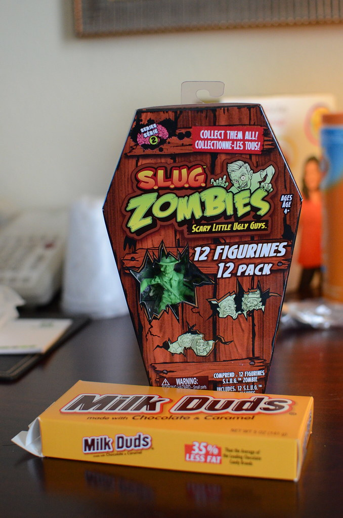 Milk Duds and Zombies