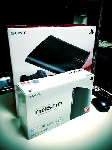 PS3 & nasne by cinz