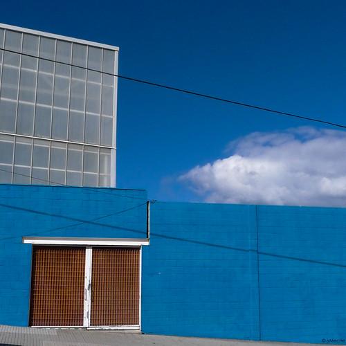 coruña in blue by eMecHe
