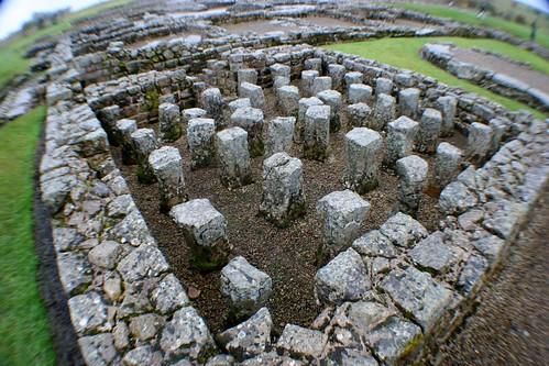 Hypocaust at Vindolanda